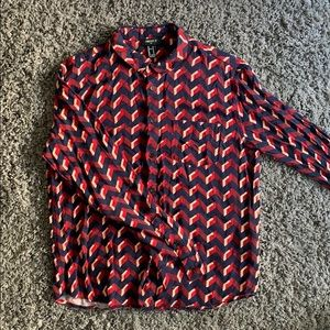 Men's Longsleeve Button Up
